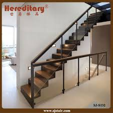 china indoor stainless steel deck black glass railing and glass stair railing cost china glass barade staircase railing