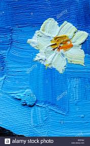 detail of a vincent van gogh style painting