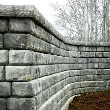 building a freestanding wall diy free standing brick retaining walls 1