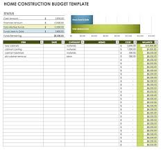 building a home budget free monthly budget templates smartsheet