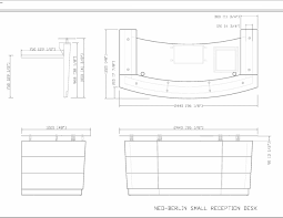table marvelous typical reception desk height 10 dimensions design of small curved highend stunning typical reception