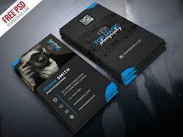 Photographer Business Card Psd Bundle Psdfreebiescom