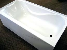 fiberglass bathtub cleaning tips repair touch up paint almond
