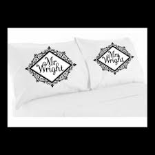 home bedding personalised mr mrs your