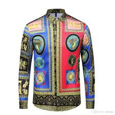 Mens Sleeve Designs Men Shirt Long Sleeve Print Mens Shirts Formal Designs