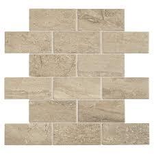 american olean fairmont beach uniform squares mosaic ceramic floor and wall tile common 12