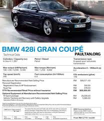 Coupe Series 2014 bmw 428i coupe price : F36 BMW 4 Series Gran Coupe launched: 428i, RM390k Paul Tan ...