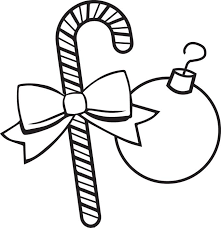 Small Picture Free Printable Christmas Ornaments Coloring Page for Kids 3
