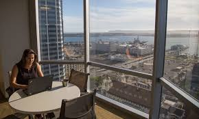 photo san diego office. our san diego office offers area amenities second to none located on the 19th floor views of bay and downtown skyline are an added bonus photo