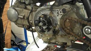 honda 50 flywheel removal installation puller