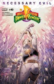 Mighty Morphin Power Rangers White Light Part 1 Mighty Morphin Power Rangers Boom Studios Issue 40
