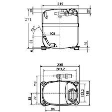 r tecumseh mini refrigerator compressor ajf buy tecumseh r22 tecumseh mini refrigerator compressor aj5510f