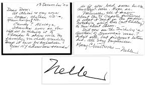 lot detail harper lee autograph letter signed nobody harper lee autograph letter signed nobody said boo