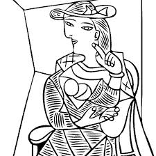 Small Picture Adult Coloring Pages Picasso