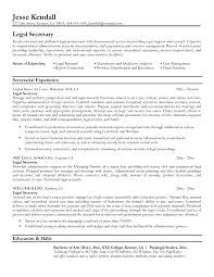 Legal Assistant Resume Template Chic Resume Legal Assistant Objective About Examples Of Legal Legal 10