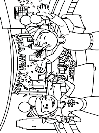 Small Picture Happy New Year Coloring Page crayolacom