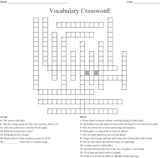 Hypothetical Particle That Travels Faster Than Light Crossword Vocabulary Crossword Wordmint