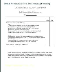 Bank Reconciliation Excel Format Template For Bank Reconciliation Excel Bank Reconciliation Template