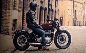 uk based triumph bike launches bonneville bobber in india and