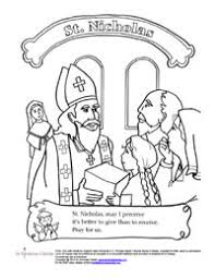 Small Picture St Nicholas Center Coloring Activity Sheets