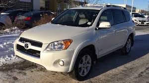 Pre Owned White 2009 Toyota RAV4 4WD 4dr V6 Limited | Lexus of ...