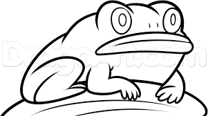 how to draw frog from the over the garden wall step 7