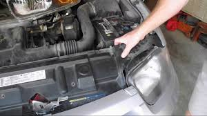 DIY - How to Replace your Chevy Cavalier Headlamp Assembly - YouTube
