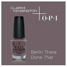 Clark And Kensington Opi Color Chart Berlin There Done That By Opi Clark Kensington Nail