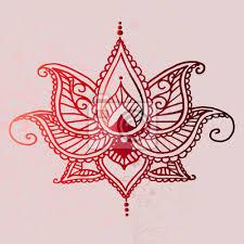 Fototapeta Orientální Vzor Ozdobné Tetování Nápad