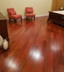 brazilian cherry brazilian cherry hardwood or laminate flooring