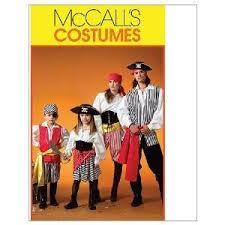 Pirate Costume Pattern Gorgeous Amazon MCCALLS M48 ADULT PIRATE COSTUMES SIZE SMALL XLARGE