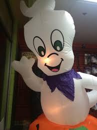 casper inflatable. photo of halloween hallway - chicago, il, united states. casper inflatable m