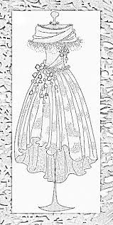Small Picture 91 best Clothing Dress Coloring For Adults Art Pages images on
