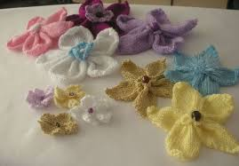 Knitted Flower Pattern Stunning Knitting Galore Knitted Flowers Free Pattern