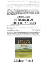 trojan war essay rocking horse winner theme essay ww essay ww as a  in search of the trojan war troy homer