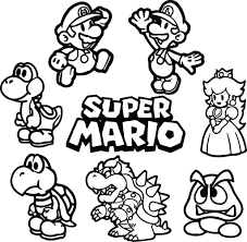 Super Smash Bros Coloring Pages New Photos Mario Coloring Pages