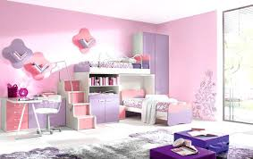 teenage bunk beds with desk modern girl colorful kids bed