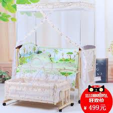 shake shake shake baby crib bed wood without paint multifunction baby cradle bed shaker environmental import