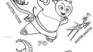 Kung Fu Panda 3 Coloring Pages Dream Kids N Fun Com Page 5