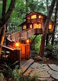 Image Backyard Cozy Quant Reallife Treehouse Pinterest Inhabited Tree House Seattle Washington Favorite Places Spaces