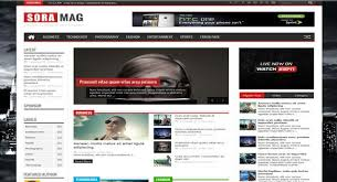 responsive blogger templates sora mag responsive blogger template urdu pc tutorials 4u