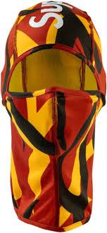 <b>Supreme Red</b>, <b>Yellow</b>, & Black Camo Balaclava | Incorporated Style