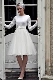 Turmec Wedding Dress Long Sleeve Short