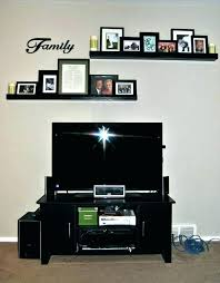 fresh wall behind tv decorating and decorate wall with tv above decor how to decorate wall