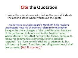 Quote Inside A Quote A Ice Answer The Question Introduce A Quotation Cite The Quotation