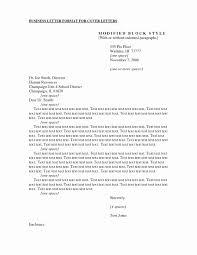 Resume Cover Letter Format Sample Luxury Application Letter Format