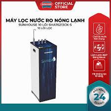 Máy lọc nước RO nóng lạnh Sunhouse SHA76213CK - Điện Máy Đăng Khoa Hải  Phòng - Đồ gia dụng chính hãng giá cực rẻ