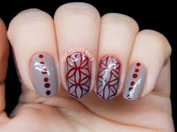 Flower of Life Sacred Geometry Nail Art | Chalkboard Nails | Nail ...