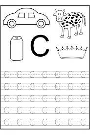 Kindergarten Best 25 Letter C Worksheets Ideas On Pinterest ...