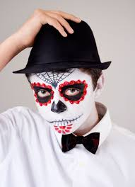 day of the dead makeup tutorial for guys